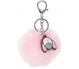 Me to You My Dinky Bear keychain Pom Pom pink 7 cm