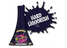 Bo-Po nail polish peeling black with the scent of Hard Liquorish for children 5.5 ml