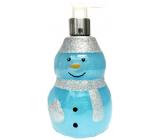 Salsa Collection Shining Star Snowman blue shower gel dispenser 440 ml