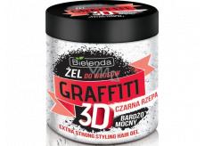 Bielenda Graffiti 3D Extra Strong Beetroot hair gel 250 g