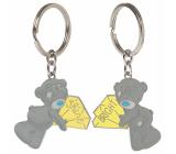 Me To You Metal keychain two-piece Diamonds 3.5 cm x 8 cm