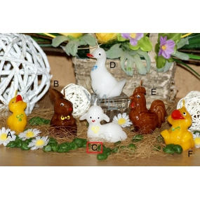 Lima Figurine Lamb larger candle 7 cm 1 piece
