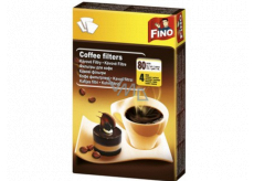 Fino Coffee filters 80 pieces 4 size