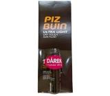 Piz Buin Ultra Light Dry Touch Sun Fluid hydratační fluid SPF15 150 ml + Piz Buin Lipstick balzám na rty SPF30 4,9 g, duopack