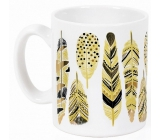 Albi Espresso Mug Feathers on white 100 ml