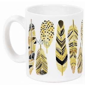 Albi Espresso Mug White Feather 100 ml