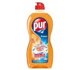 Pur Duo Power Orange & Grapefruit dishwashing detergent 450 ml