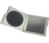 Mirror double rectangular silver 7.5 x 8.3 x 0.6 cm 60100