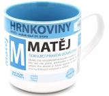 Nekupto Mugs Mug named Matěj 0.4 liters