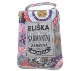 Albi Foldable bag for zipper with the name of Eliska 42 x 41 x 11 cm