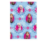 Ditipo Gift wrapping paper 70 x 200 cm Christmas Disney Ice Kingdom light blue