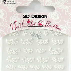 Absolute Cosmetics Nail Art 3D nail stickers 24926 1 sheet