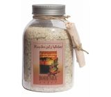 Bohemia Gifts Cinnamon and Acacia with aphrodisiac scent bath salt 1.2 kg