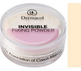 Dermacol Invisible Fixing Powder pudr odstín Light 13,5 g