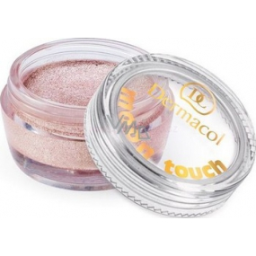 Dermacol Moon Touch Mousse eye shadow foam with moon glitter 12 4.9 g