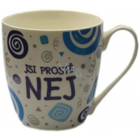Nekupto Twister mug with the inscription You're just the best 0.4 liter