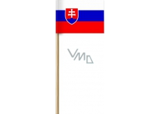 Arch Paper flags of the Slovak Republic on stick 42 cm 1 piece