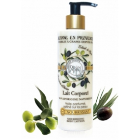 Jeanne en Provence Divine Olive body lotion dispenser 250 ml