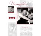 Ditipo Hrací a svítící přání Novomanželům blahopřejeme Karel Gott, Marika Gombitová Neznámy pár 224 x 157 mm
