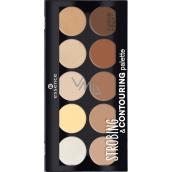 Essence Strobing & Contouring Palette paletka 10 My Own Make Up Artist 15 g
