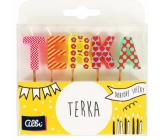 Albi Cake candles name - Terka, 2.5 cm
