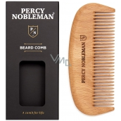 Percy Nobleman Wooden beard comb for men