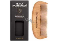 Percy Nobleman wooden beard comb for men