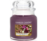Yankee Candle Moonlit Blossoms - Flowers in the moonlight fragrant candle Classic medium glass 411 g