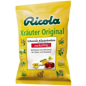 Ricola Original Swiss herbal sugar free sweets with vitamin C from 13 herbs 75g