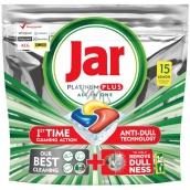 Jar Platinum Plus All in One Lemon Dishwasher capsules 15 pieces