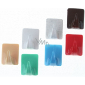 Plastic Nova PTN towel hook self-adhesive rectangle 2 pieces