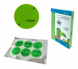Trixline Repellent sticker against ticks green 6 pieces TR624