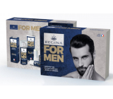 Regina for Men face cream 24h 50 ml + shower gel 200 ml + Original deer tallow 13 g, cosmetic cartridge