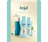 Fenjal Classic shower cream 200 ml + body lotion 200 ml + oil bath foam 125 ml, cosmetic set