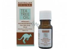 Australian Tea Tree Oil Original 100% pure natural oil cleanses the skin of bacteria 10 ml