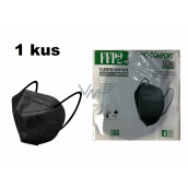 HO-Comfort Respirator oral protective 5-layer FFP2 face mask Black 1 piece