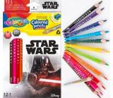 Colorino Crayons triangular Star Wars 13 colors
