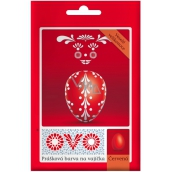 Ovo Red powder paint 1 sachet (5 g) = 10 - 15 eggs