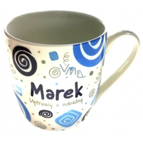 Nekupto Twister mug named Marek blue 0.4 liter