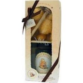 Disney Winnie the Pooh bath foam 300 ml + teddy bear + wooden flowerpot for honey, cosmetic set