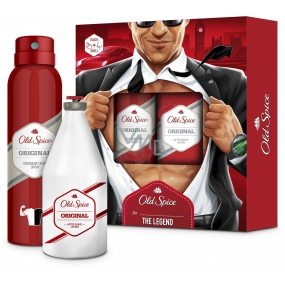 Old Spice Original aftershave 100 ml + deodorant spray 150 ml, cosmetic set for men