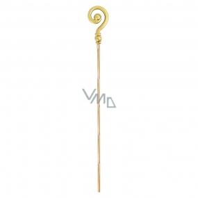 Nicholas gold cane / crutch 185 cm