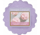 Yankee Candle Sweet Morning Rose - Sweet morning rose fragrant wax into aroma lamp 22 g
