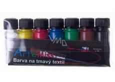 Art e Miss Color for dark textiles set 7 x 12 g