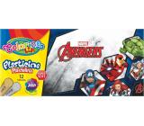 Colorino plasticine Marvel Avengers 12 colors