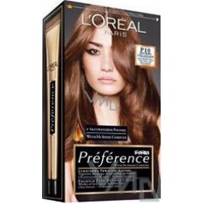 Loreal Paris Préférence Féria hair color P10 extra lightening for dark hair