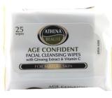 Athena Beauté Mature Skin Odličovací vlhčené ubrousky 25 ks