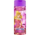Disney Princezny Popelka 2v1 sprchový gel a šampon do koupele růžový 400 ml