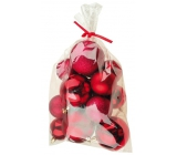 Flasks red mix surfaces and sizes 20 pieces