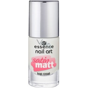 Essence Nail Art Satin Matt Top Coat Top Coat 26 Matt About You! 8 ml